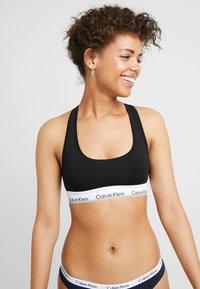 Calvin Klein Underwear - MODERN BRALETTE - Bustier - black - 0