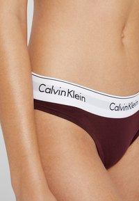 Calvin Klein Underwear - Slip - deep maroon/white - 4