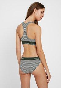 Calvin Klein Underwear - Slip - dark green/white - 2