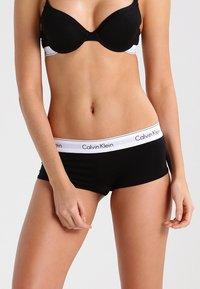 Calvin Klein Underwear - MODERN COTTON - Panty - black - 0