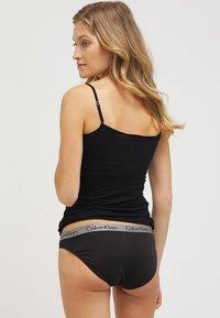 Calvin Klein Underwear - RADIANT COTTON  - Figi - black - 2