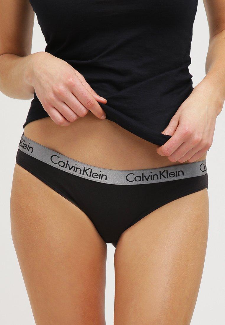 Calvin Klein Underwear - RADIANT COTTON  - Figi - black