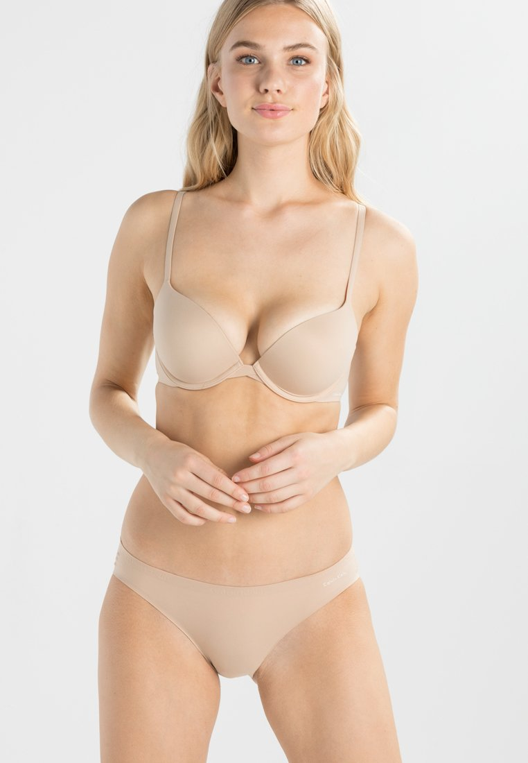 Calvin Klein Underwear - PERFECTLY FIT - Push-up BH - bare