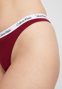 Calvin Klein Underwear - CAROUSEL THONG 3 PACK - String - raspjam/dusty periwinkle/white - 4