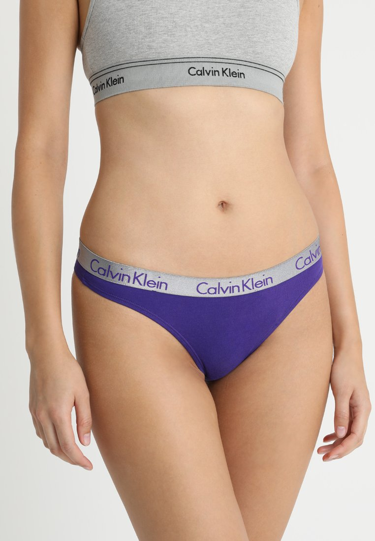 Calvin Klein Underwear - RADIANT THONG - G-strenge - lilac/grey