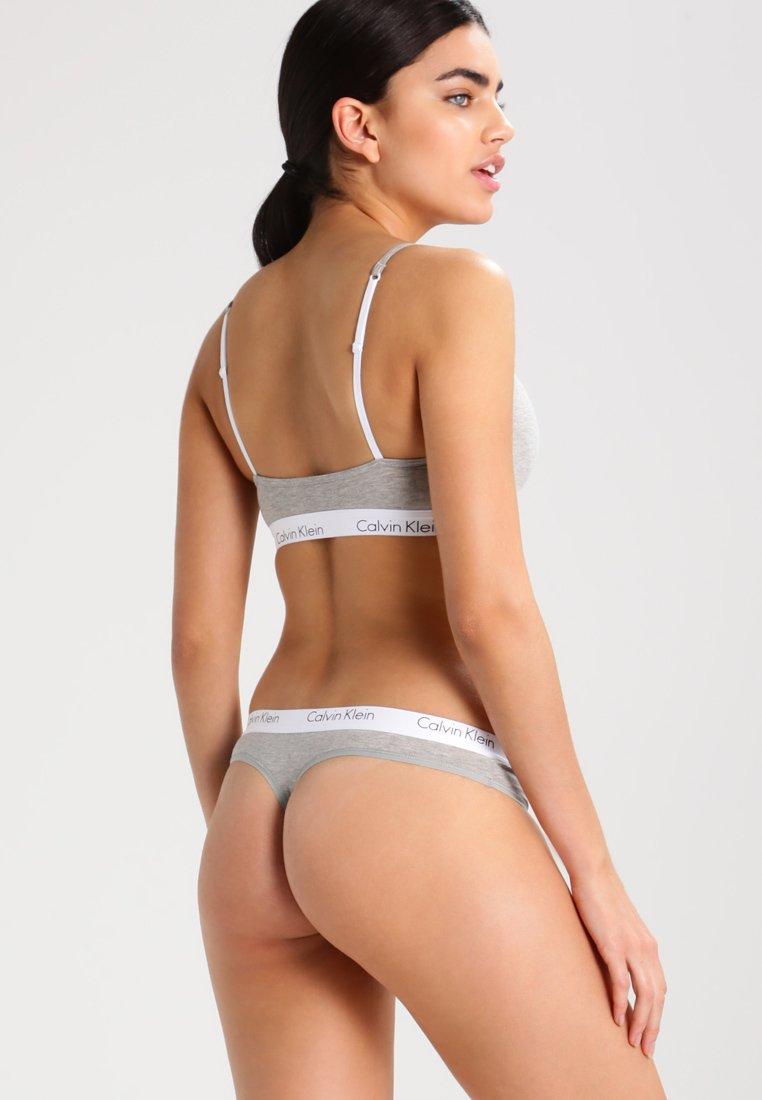Calvin OneString Heather Klein Underwear Ck Grey qSMVpLUzG