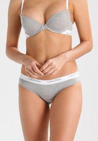 Calvin Klein Underwear - 2 PACK - Tanga - grey - 1