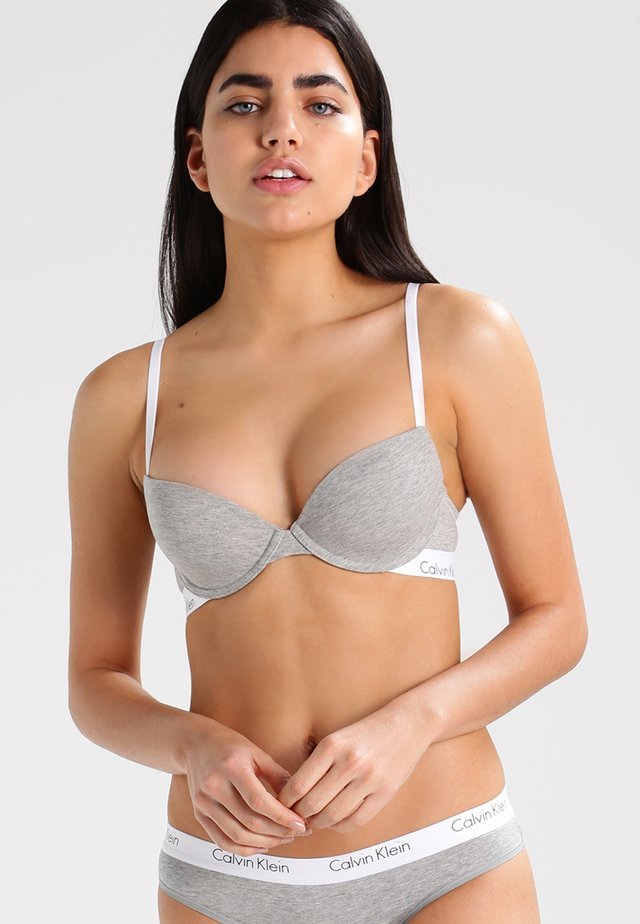 BRA - Strapless BH - grey heather