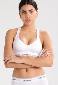 Calvin Klein Underwear - MODERN BRALETTE LIFT - Bustier - white - 0