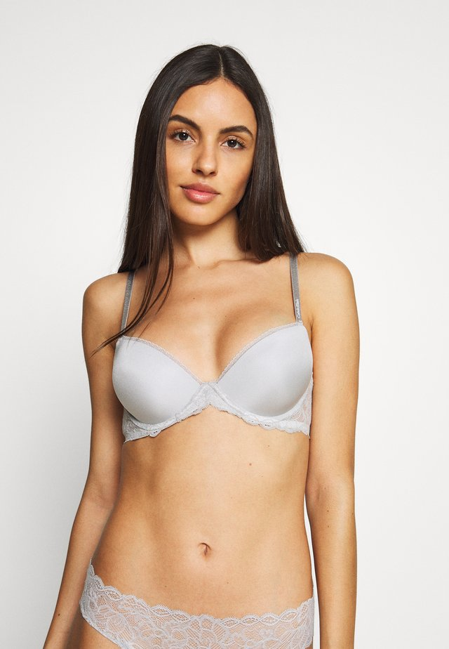 DEMI - Soutien-gorge push-up - jet grey