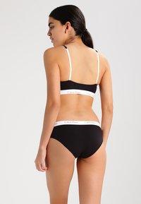 Calvin Klein Underwear - 2 PACK - Slip - black - 2