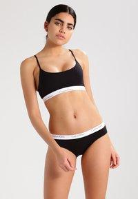 Calvin Klein Underwear - 2 PACK - Slip - black - 0
