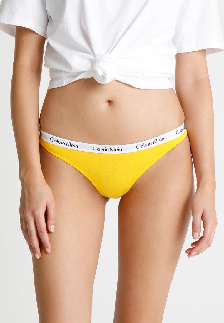Calvin Klein Underwear - THONG - Stringi - yellow