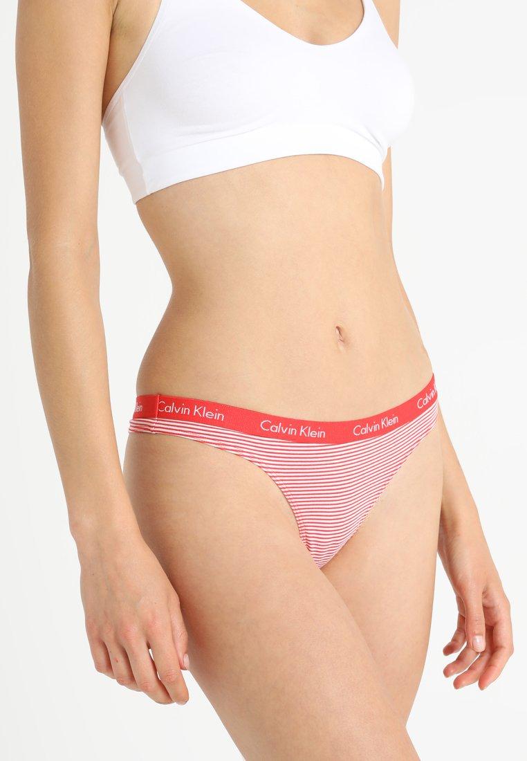 Calvin Klein Underwear - THONG - Stringi - red