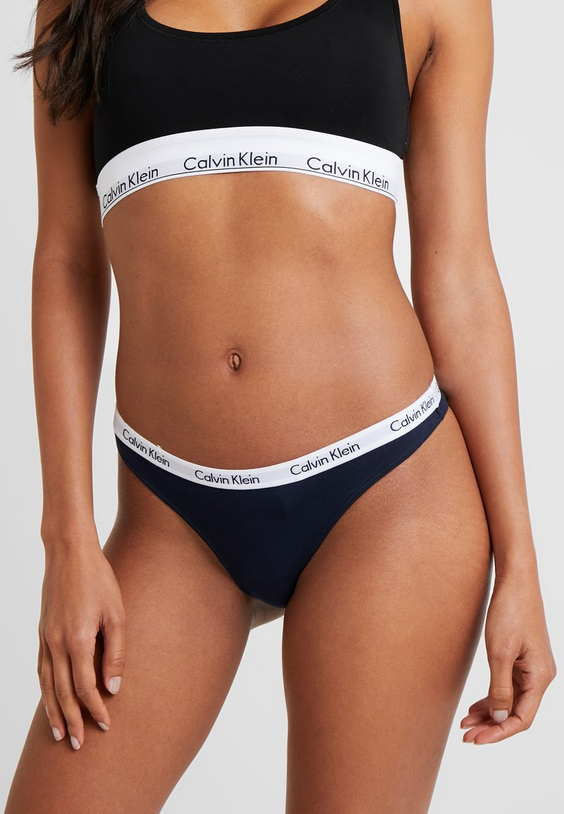 Calvin Klein Underwear - THONG - Thong - blue