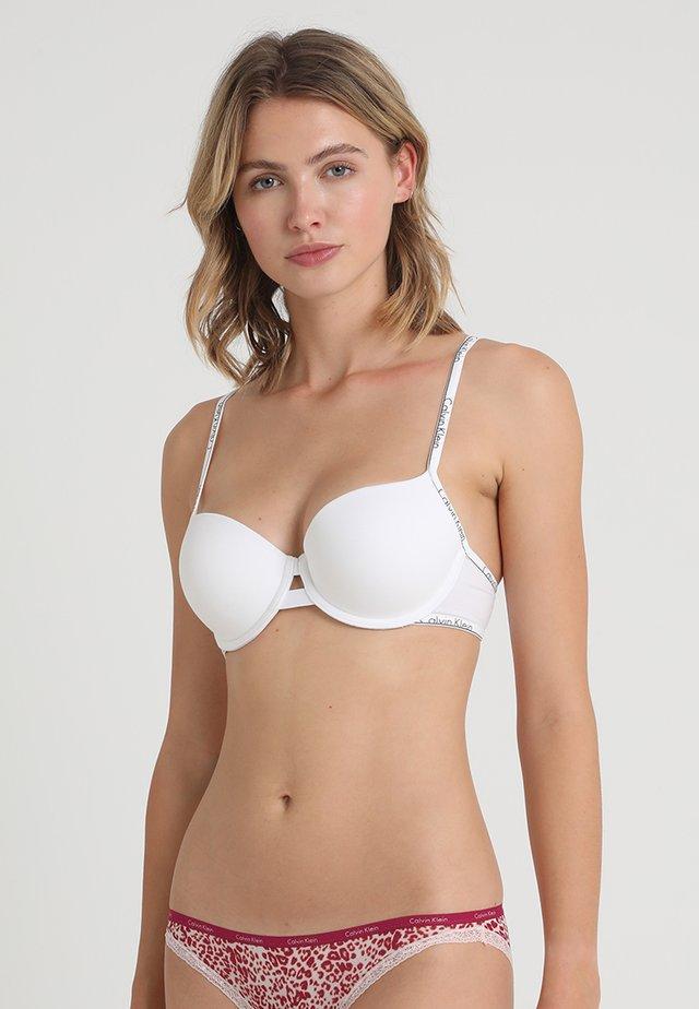 Soutien-gorge à bretelles amovibles - white