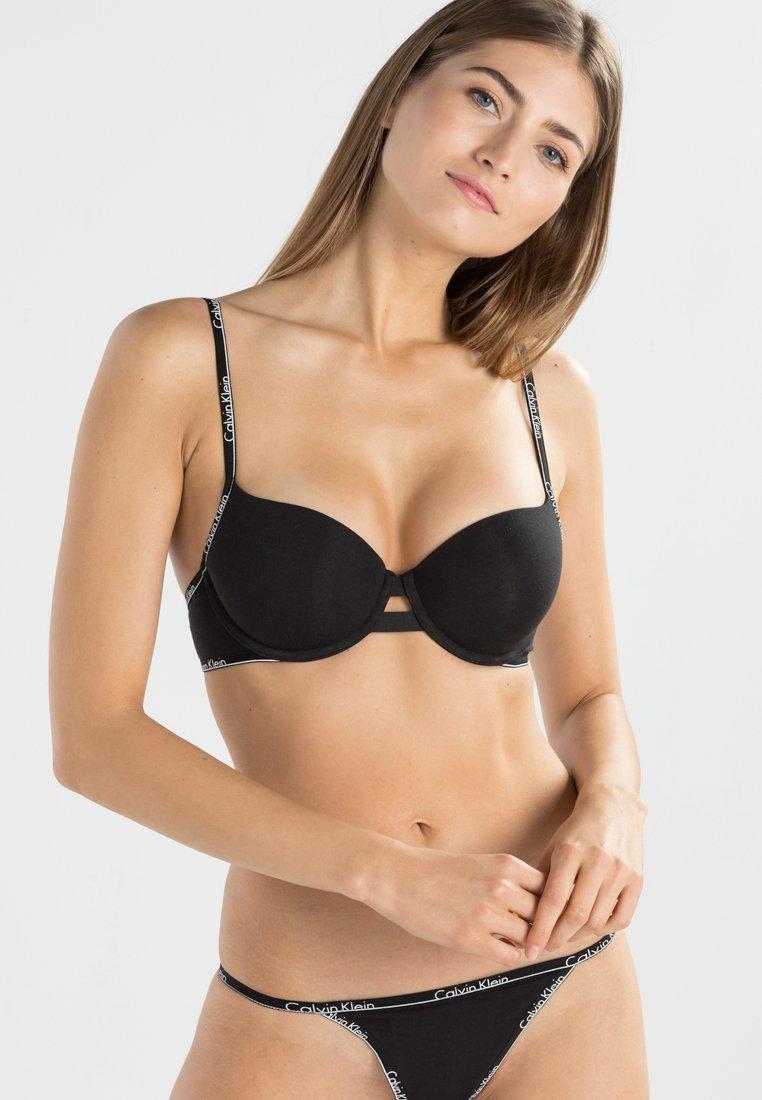 Calvin Klein Underwear - Víceúčelová podprsenka/ podprsenka bez ramínek - black