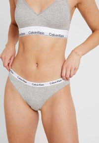 Calvin Klein Underwear - 3 PACK - Trusser - pomelo/polar lights/grey - 0