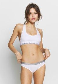 Calvin Klein Underwear - 3 PACK - Underbukse - prarie pink/covet/white - 0