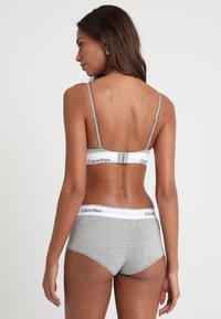 Calvin Klein Underwear - UNLINED - Reggiseno a triangolo - grey heather - 2