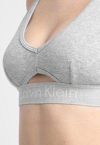 Calvin Klein Underwear - UNLINED BRALETTE - Topp - grey - 5