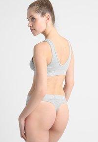 Calvin Klein Underwear - UNLINED BRALETTE - Topp - grey - 2