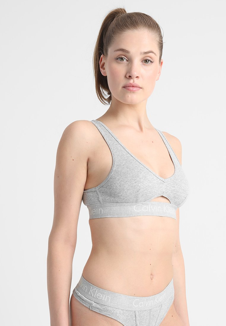 Calvin Klein Underwear - UNLINED BRALETTE - Topp - grey