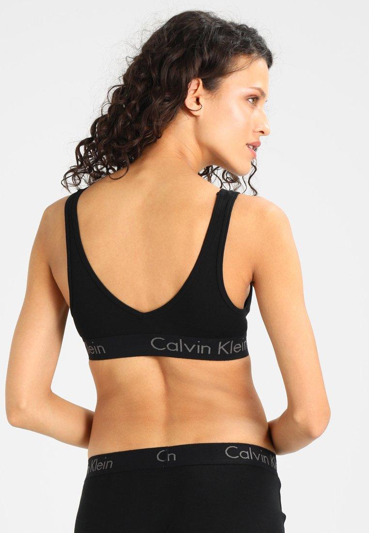 BraletteBrassière Calvin Underwear Klein Unlined Black 6Ybgyf7v