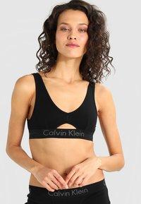 Calvin Klein Underwear - UNLINED BRALETTE - Topp - black - 0