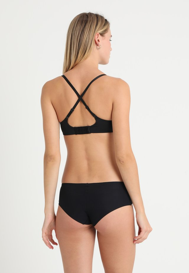PLUNGE - Push up -rintaliivit - black