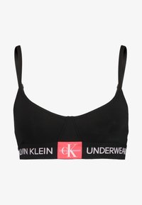 Calvin Klein Underwear - MONOGRAM UNLINED TRIANGLE - Topp - black/aurelie - 3
