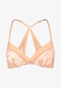 Calvin Klein Underwear - PLUNGE - Push up -rintaliivit - beige - 3