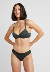 Calvin Klein Underwear - LIGHTLY LINED DEMI - Sujetador básico - duffel bag - 1