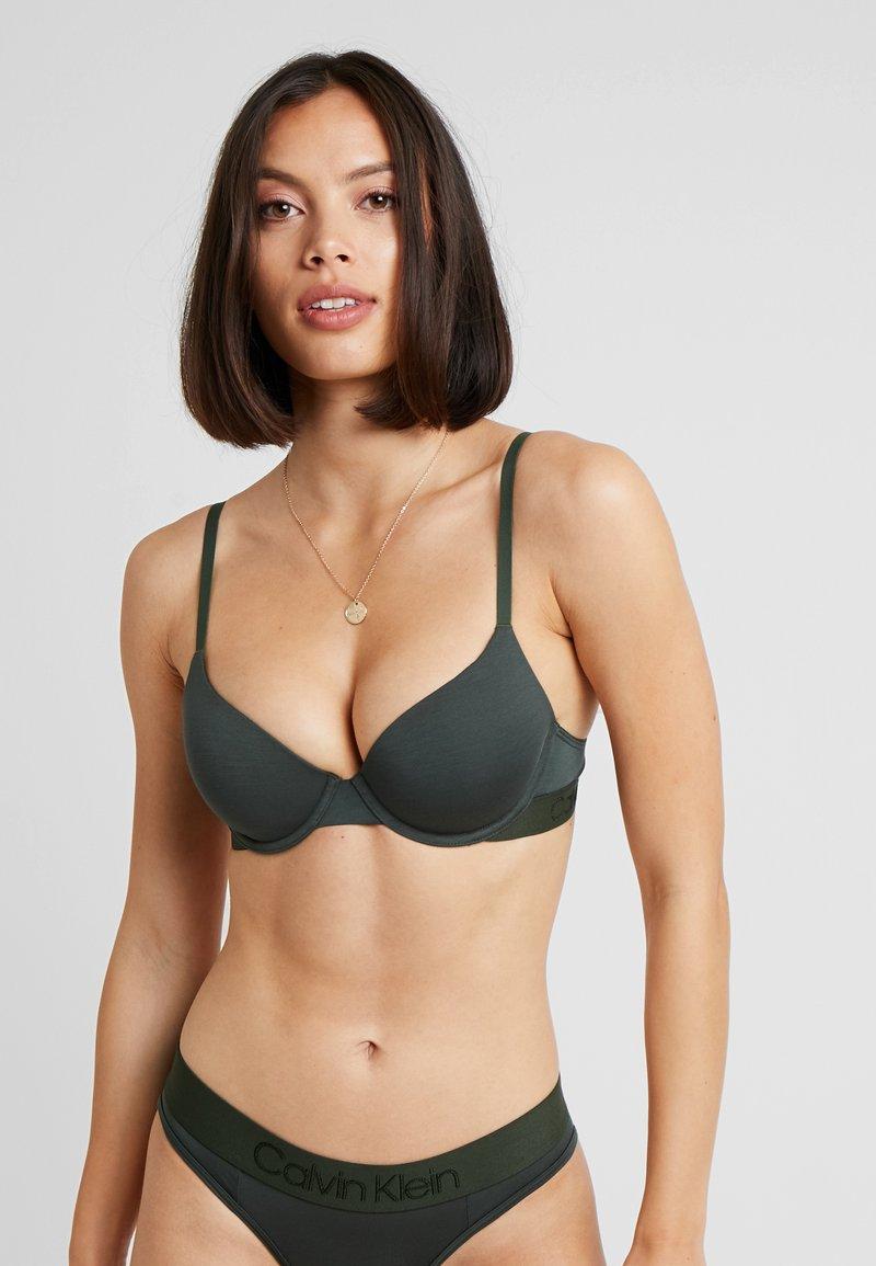 Calvin Klein Underwear - LIGHTLY LINED DEMI - Podprsenka pod tričko - duffel bag