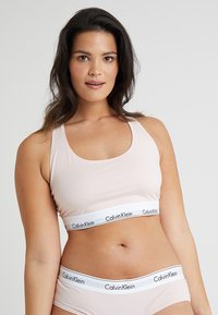 Calvin Klein Underwear - MODERN PLUS UNLINED BRALETTE - Topp - nymphs thigh - 0