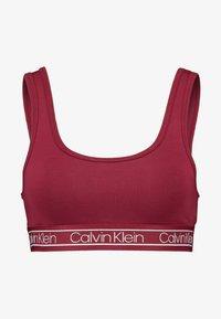 Calvin Klein Underwear - MODERN UNLINED BRALETTE - Bustier - raspberry jam - 4