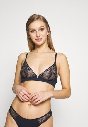 PETAL UNLINED PLUNGE - Triangle bra - shoreline