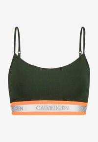 Calvin Klein Underwear - NEON UNLINED  - Bustier - dark green orange - 4