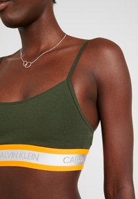 Calvin Klein Underwear - NEON UNLINED  - Bustier - dark green orange - 5