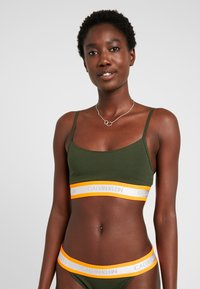 Calvin Klein Underwear - NEON UNLINED  - Bustier - dark green orange - 0
