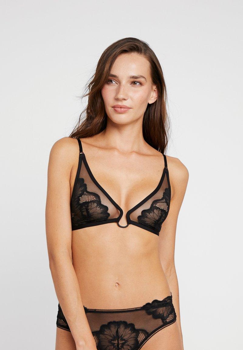 Calvin Klein Underwear - UNLINED TRIANGLE - Triangel-BH - black