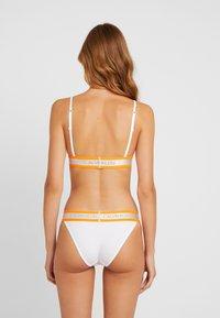 Calvin Klein Underwear - HAZARD UNLINED - Bikini top - white - 2