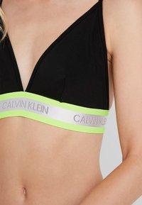 Calvin Klein Underwear - HAZARD UNLINED - Triangel-BH - black - 4