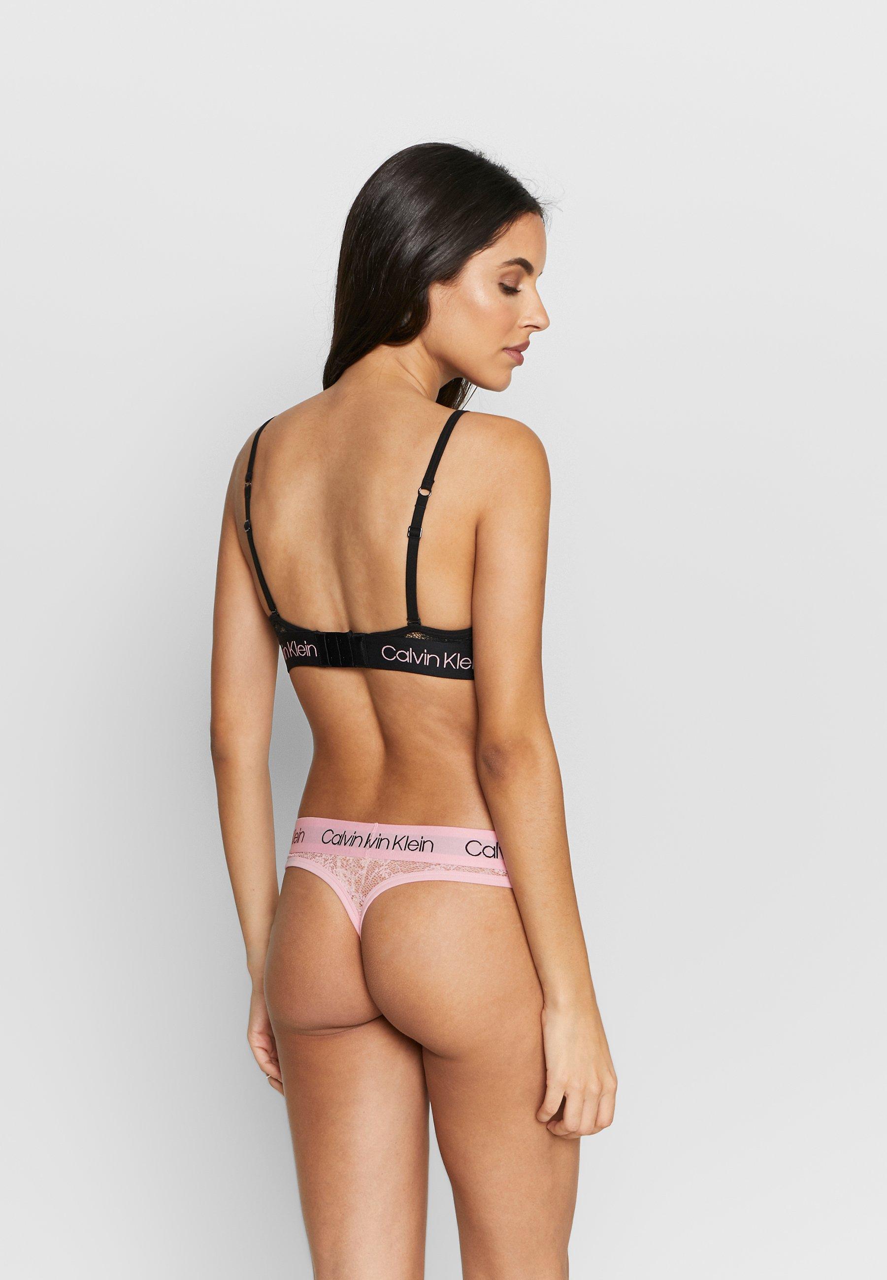 Calvin Klein Underwear V Day Capsule Unlined - Soutien-gorge Triangle Black