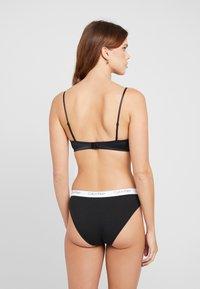 Calvin Klein Underwear - GARLAND UNLINED - Triangel-BH - black - 2