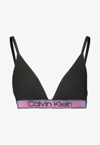 Calvin Klein Underwear - TONAL LOGO UNLINED - Triangel BH - black - 4