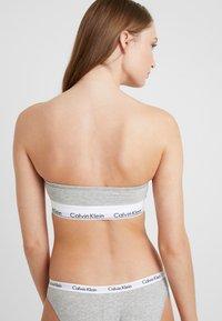 Calvin Klein Underwear - MODERN BANDEAU - Topp - grey heather - 2