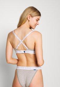 Calvin Klein Underwear - ONE LIGHTLY LINED DEMI - Push-up BH - grey heather - 2