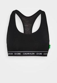 Calvin Klein Underwear - ONE RECYCLE UNLINED BRALETTE - Topp - black - 4