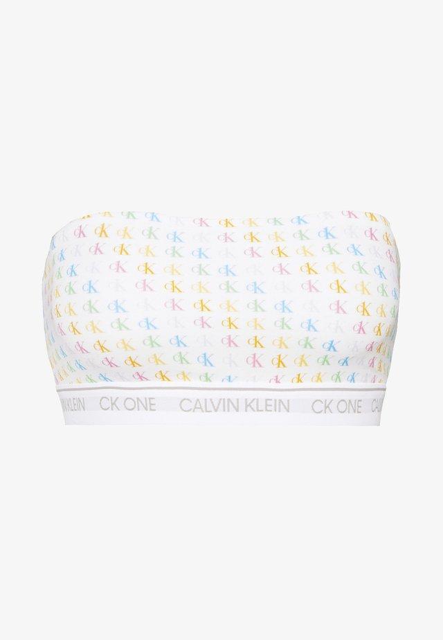ONE PRIDE CAPSULE UNLINED BANDEAU - Brassière - multicoloured